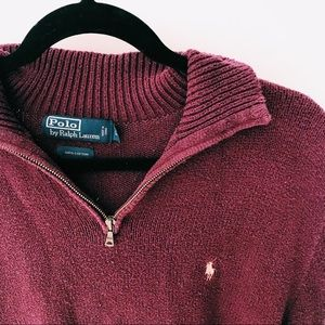 Polo by Ralph Lauren Sweaters - POLO QUARTER ZIP SWEATER
